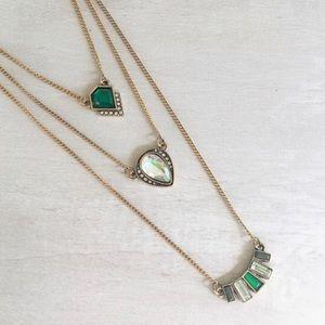 Delicate & Lovely emerald pendant!